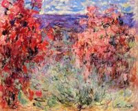 Claude Monet - Flowering Trees near the Coast, 1926 (Mar17P58)