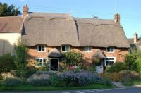 Thatched cottages at 1 and 2 The Green, Cropredy, Oxfordshire