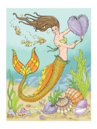 A Mermaid in Love Under the Sea
