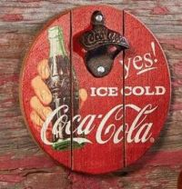 Old-Time Coke sign