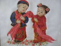 cross stitches - chinese wedding