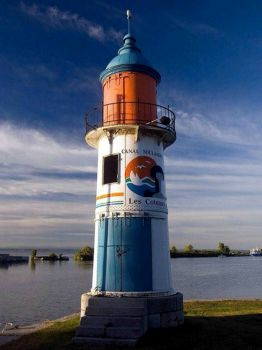 Coteaux Du Lac Lighthouse, Quebec, Canada