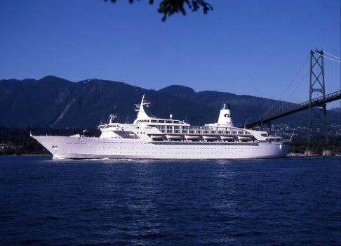 Sun Princess, Lions Gate Bridge