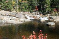 Lower Falls on Swift River