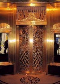Art Deco Peacock Elevator