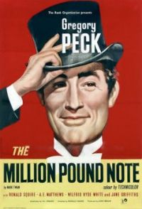 THE MILLION POUND NOTE ............ 1954 POSTER - GREGORY PECK