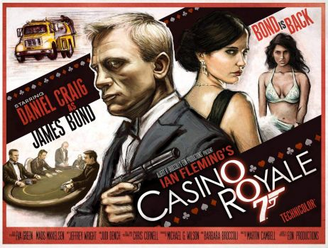 JAMES BOND 007--CASINO ROYALE !