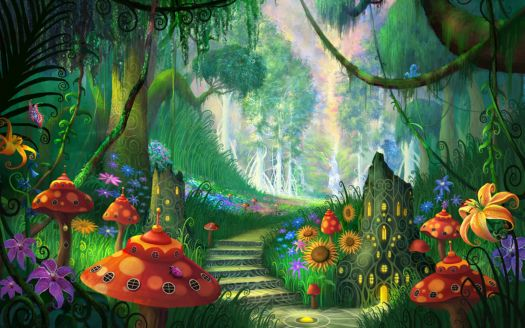 Beautiful_Magic_Fantasy_Garden_Wallpaper
