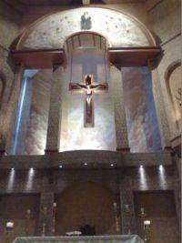 Altar Parroquia Nuestra Se;ora Reina de los Angeles.