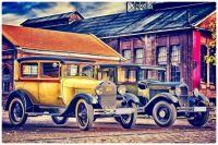Vintage Ford Cars