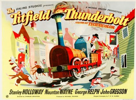 THE TITFIELD THUNDERBOLT - 1953  STANLEY HOLLOWAY,NAUNTON WAYNE, GEORGE RELPH, JOHN GREGSON
