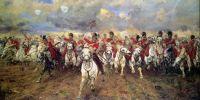 """Scotland Forever!""  1881, Elizabeth Southerden Thompson"