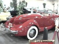 1937 Cord 812 Boat tail Speedster in Laughlin NV (one of two)