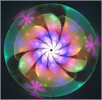 Flower in Emerald (XL)
