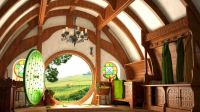 inside a Hobbit House