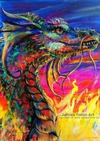 James' dragon (aka sillychick lol) ;)
