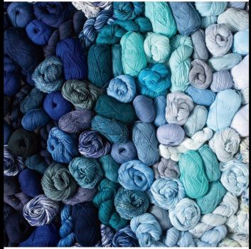 Chanukah Blues of Yarn