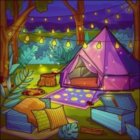 Colorful Camping