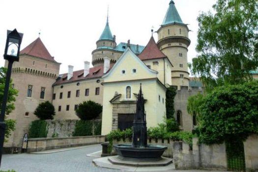 zámek Bojnice