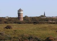 Watertower in the dunes of Monster