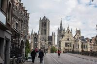 Gent: de drie wereldberoemde torens/ Ghent: the three world-famous towers