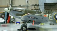 Supermarine Spitfire in Hanger