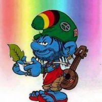hippie smurf