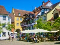 Outdoor cafe, Meersburg Germany