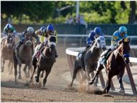 The Final Turn At The Belmont Stakes