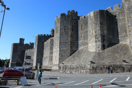 Theme: Castles - Caernafon Castle