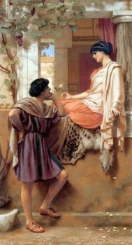 The Old, Old Story 1903 by John William Godward