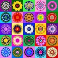 Kolorful Kaleidos  (extra large)
