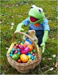 Holiday  Easter  Kermit the Frog  01