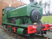 Little tank engine at Beamish museum