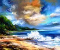 The beach in paradise