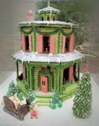 octagon gingerbread house