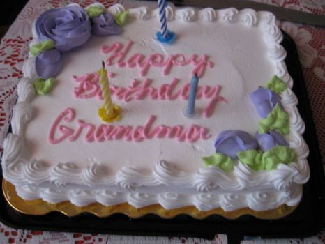 August 9th Special Day for Grandma