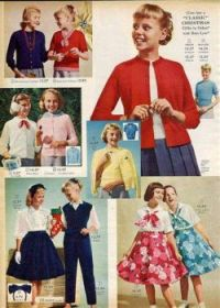 Vintage girls clothing