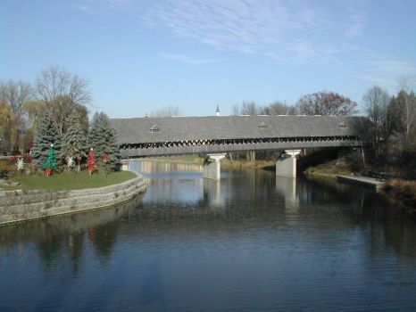 Covered Bridge, Frankenmuth, MI