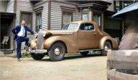 1936 Oldsmobile coupe