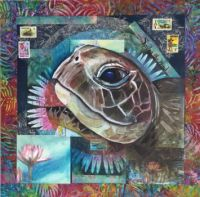 Mixed Media Turtle II