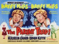 THE PARENT TRAP - 1961 POSTER - HAYLEY MILLS & HAYLEY MILLS
