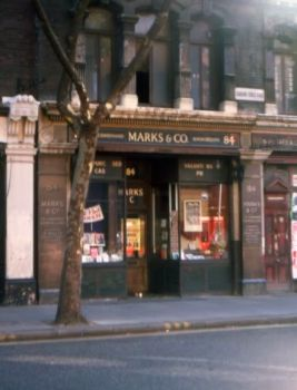 84 CHARING CROSS ROAD - MARKS & CO