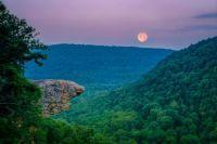 Whitaker Point in the Ozark Mountains of Arkansas
