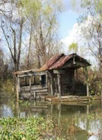 Old House in Water