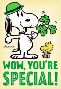 Charlie Brown St. Pats Snoopy 3