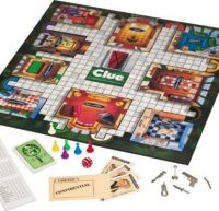Clue Board Game-weekly theme