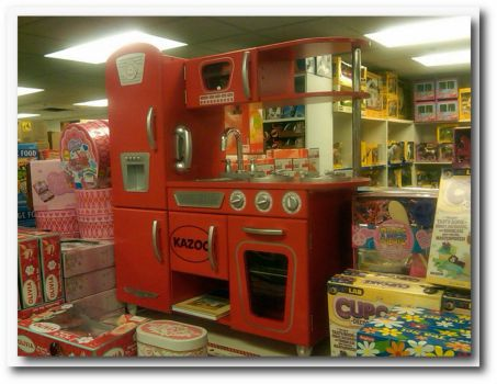 Red Toy Kitchen