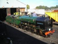 Just visiting the BVR steam gala