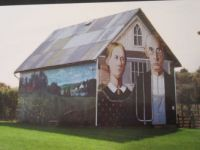 AMERICAN GOTHIC Barn (smaller version)